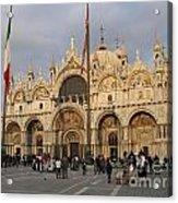 Basilica San Marco Acrylic Print