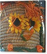 Basket Head Acrylic Print