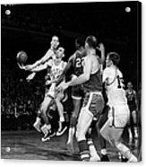 Basketball Game, C1960 Acrylic Print