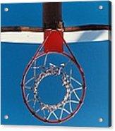 Basketball Goal Acrylic Print