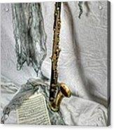 Bass Clarinet Acrylic Print