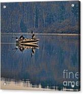 Bass Fishing Acrylic Print