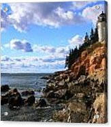 Bass Harbor Head Seascape Acrylic Print