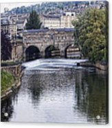 Bath England Acrylic Print
