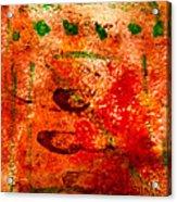 Bathed In Clay Garden  Acrylic Print