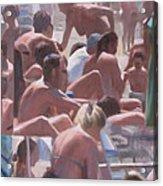 Bathers - I Bagnanti Acrylic Print