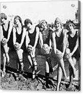 Bathing Beauties, 1916 Acrylic Print