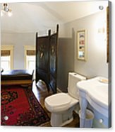 Bathroom With Sitting Area Acrylic Print by Andersen Ross
