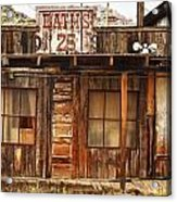 Baths Twenty Five Cents Acrylic Print