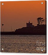 Battery Point Sunset Acrylic Print