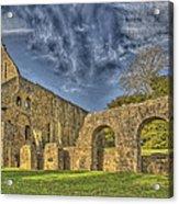 Battle Abbey Ruins Acrylic Print