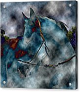 Battle Cloud - Horse Of War Acrylic Print