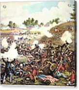 Battle Of Bull Run, 1861 Acrylic Print