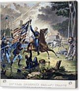 Battle Of Chantlly, 1862 Acrylic Print