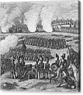 Battle Of Chapultepec Acrylic Print