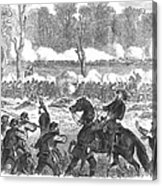 Battle Of Chickamauga 1863 Acrylic Print