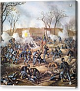 Battle Of Fort Donelson Acrylic Print