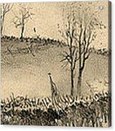 Battle Of Kernstown, 1862 Acrylic Print