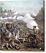 Battle Of Winchester, Acrylic Print