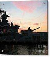 Battleship Acrylic Print