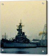 Battleship New Jersey Acrylic Print
