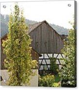 Bavarian Barn Acrylic Print