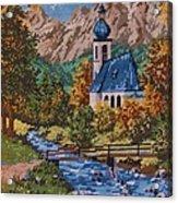 Bavarian Country Acrylic Print