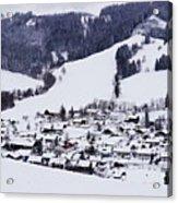 Bavarian Village Acrylic Print
