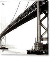 Bay Bridge Acrylic Print by Jarrod Erbe