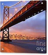 Bay Bridge To San Francisco Acrylic Print