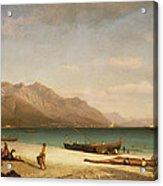 Bay Of Salerno Acrylic Print
