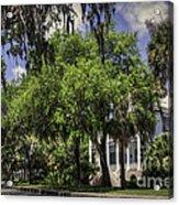 Bay Street Beaufort Sc II Acrylic Print