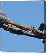 Bbmf Lancaster Bomber 2 Acrylic Print by Ken Brannen