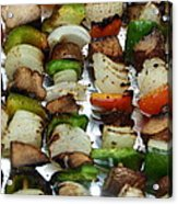 Bbq Grilled Vegetables Acrylic Print