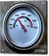 Bbq Thermometer Acrylic Print