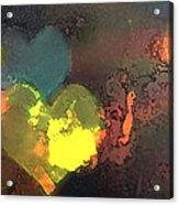 Be Love Acrylic Print by Gina Barkley