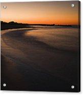 Beach At Sunset Acrylic Print by Roberto Westbrook