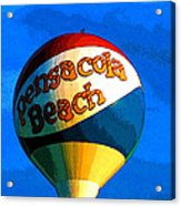 Beach Ball Acrylic Print