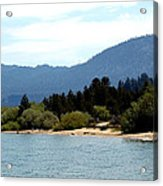 Beach Biking Lake Tahoe Acrylic Print