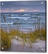 Beach By Holland Michigan No 0192 Acrylic Print