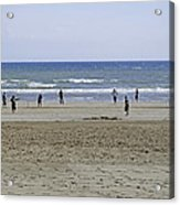 Beach Cricket - Bridlington Acrylic Print