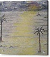 Beach Front Property Acrylic Print