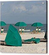 Beach Furniture II Acrylic Print