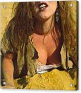 Beach Girl Acrylic Print