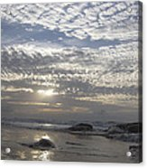 Beach Of Glass Acrylic Print