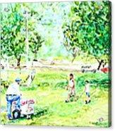 Beach Park  Acrylic Print