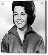 Beach Party, Annette Funicello, 1963 Acrylic Print