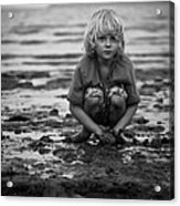 Beach Play Acrylic Print