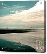 Beach Reflection Acrylic Print