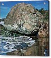 Beach Rock Acrylic Print